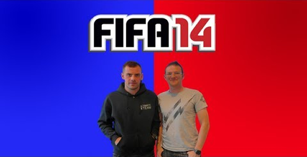 Ireland and Everton's Darron Gibson becomes one of the first professional footballers to take on a YouTuber in FIFA 14!