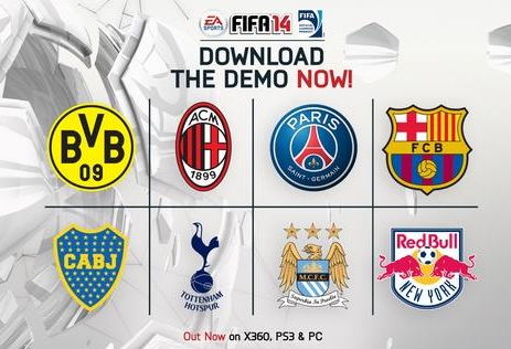 Experience FIFA 14 first-hand with the arrival of the demo.
