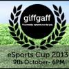 giffgaff eSports Cup 2013