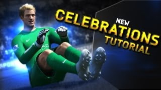 Learn how to do the New Celebrations in FIFA 14!