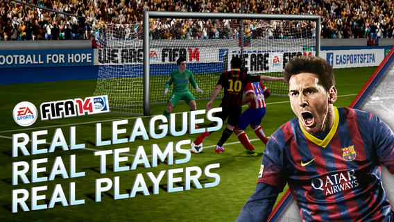 REAL PLAYERS. REAL TEAMS. REAL LEAGUES. Welcome to the most authentic football game on the App Store. Feel the excitement of every pass, shot, and tackle with new touch controls. Plus, live every moment of real-world football mastery with EA SPORTS™ Football Club Match Day. Get in there!