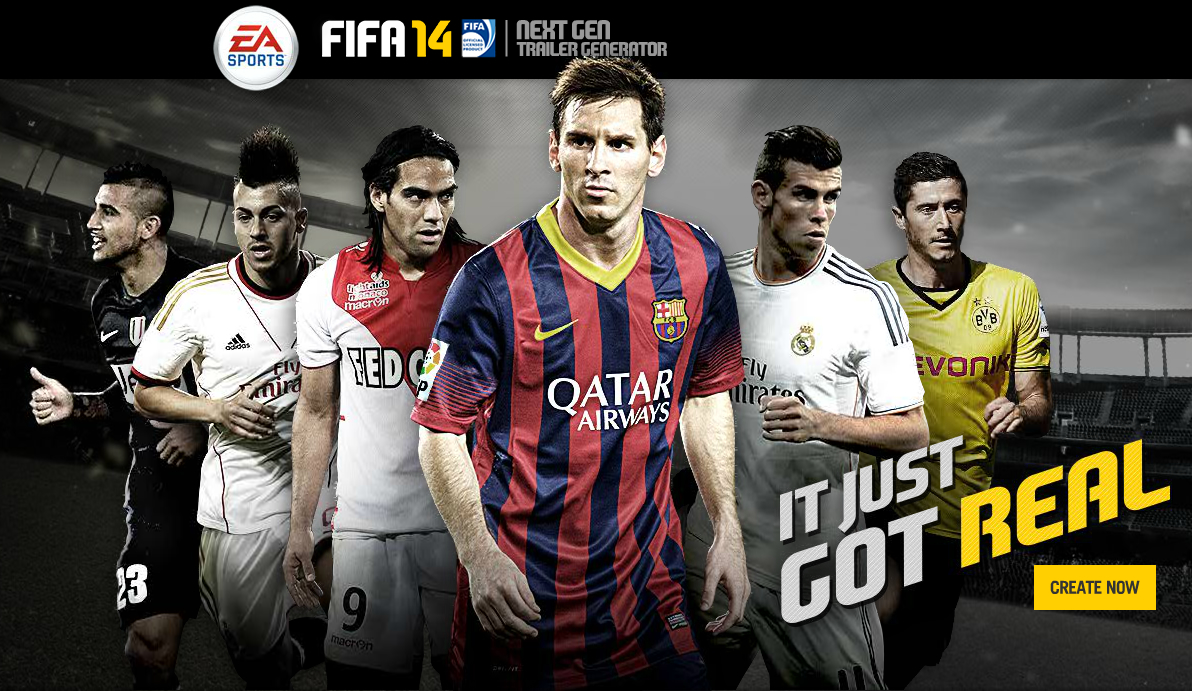 Create your FIFA 14 Gameplay Trailer