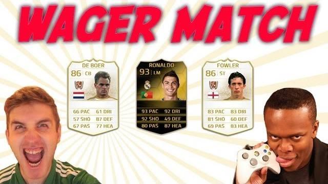 FIFA 14 | KSI Vs MattHDGamer | 2 Legends & IF Ronaldo on the Line