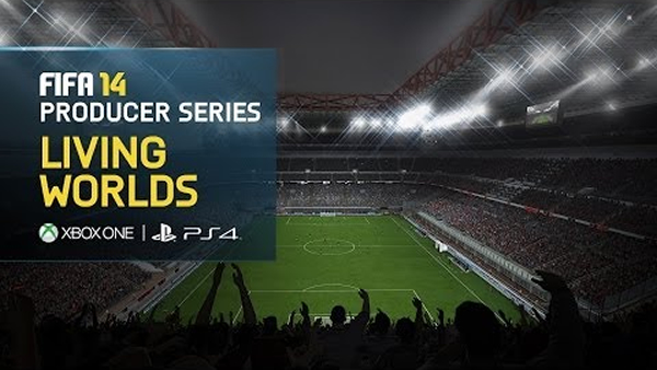 FIFA 14 - Xbox One, PS4 gameplay showing Living Worlds, new broadcast package, and In-Game director features