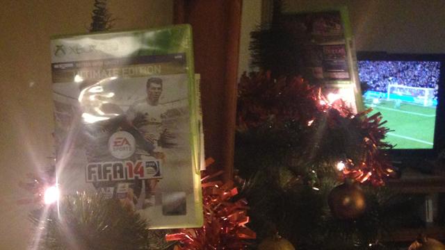 FIFA 14 | Top of Tree at Christmas
