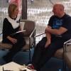 Wittser is interviewed by Rachel Riley