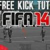 FIFA 14 Tutorials & Tips | Advanced Free Kick (How to) Dipping & Power
