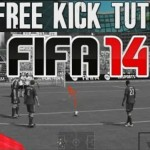 FIFA 14 Pro Tutorials and Tips | Advanced Free Kick (How to) Dipping & Power