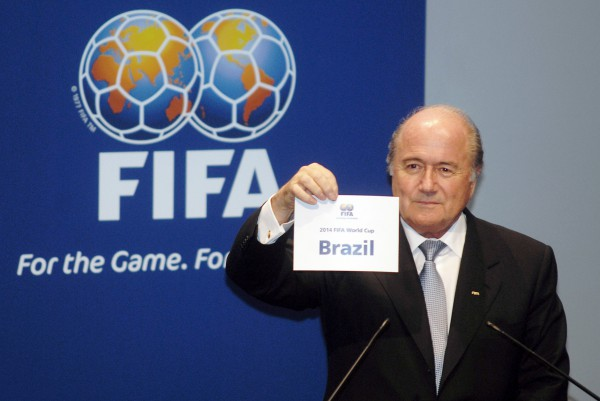 Sepp Blatter Announcing the 2014 FIFA World Cup host country