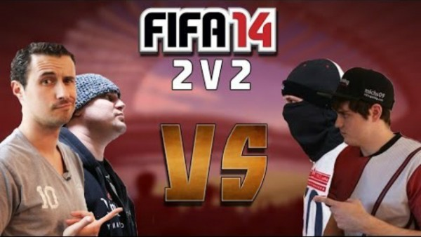 AIRJAPESFIFA & WEPEELER vs THEFIFAPLAYA & DIRTY MIKE - FIFA 14