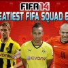 SWEATIEST TEAM EVER ft AUBAMEYANG ROBBEN REUS GOTZE - FIFA 14 SQUAD BUILDER