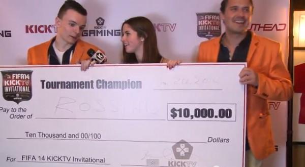 Congratulations to RossiHD | KICKTV FIFA 14 Invitational Champion