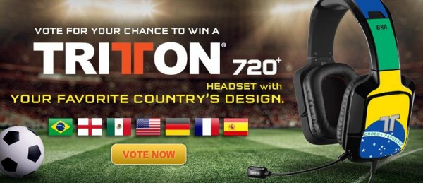 Vote for Your Chance to Win a Tritton 720+