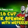 Wepeeler's Amazing World Cup Pack Pulls