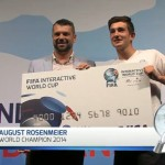 FIWC 2014 | Congratulations to August Rosenmeier Crowned World Champion