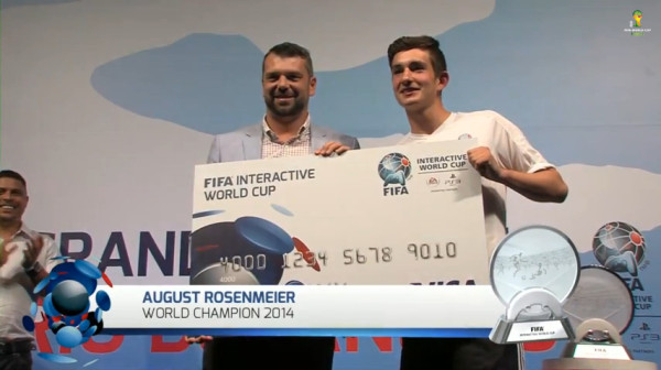 August Rosenmeier | FIWC 2014 World Champion