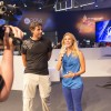 Interview with FIFA 15 Producer Sebastian Enrique on stage hosted by Christine Imdahl