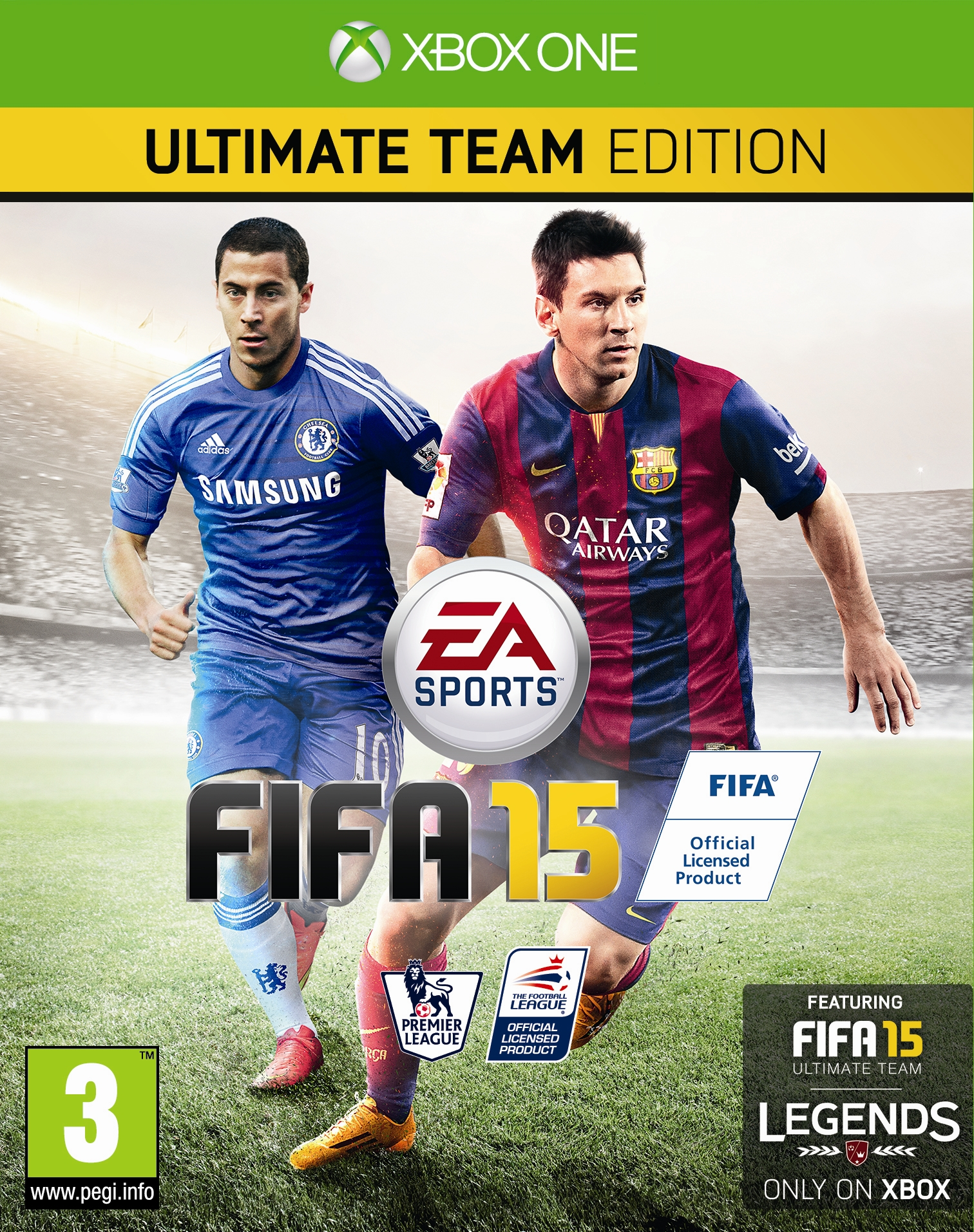Chelsea Superstar to Feature on EA SPORTS FIFA 15 in the UK, Ireland, Belgium, France and the Netherlands