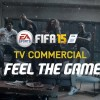 Feel The Game in the official FIFA 15 TV commercial.