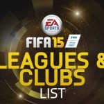 FIFA 15 | Complete Leagues and Clubs Listing