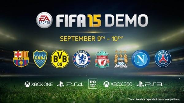 The FIFA 15 Demo