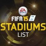 FIFA 15 | Complete Stadium Listing