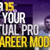 WelshDragonDsG's FIFA 15 Tutorial | How to put your Virtual Pro in Career Mode
