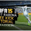 Kazooie94 shows you how to score a Direct Rabona Free Kick in FIFA 15. It's somethings brand new in FIFA 15 this year, so hopefully you guys enjoy this video!