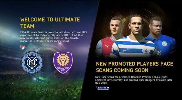 FIFA 15 Updates 25th November