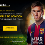 Squawka Cup FIFA 15 Tournament | Win 2 VIP Tickets to EPL Game